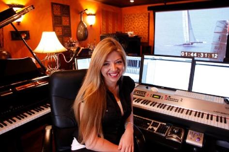 Pinar Toprak in her Studio