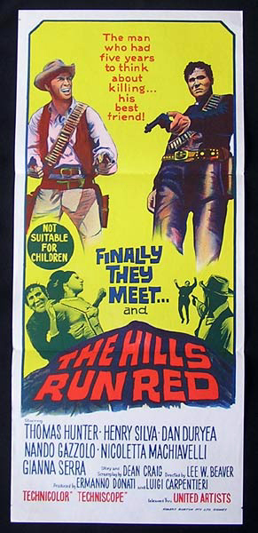 the hills run red 1966 soundtrack
