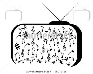 stock-vector-tv-with-musical-notes-45272455