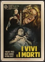 fall of the house of usher italian poster 1960