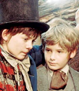 still-of-mark-lester-and-jack-wild-in-oliver!-(1968)-large-picture